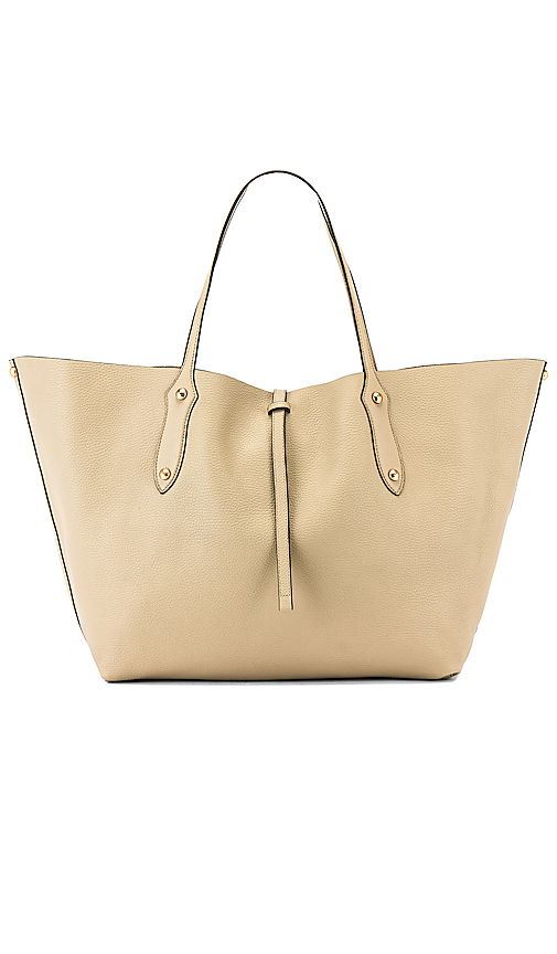 Annabel Ingall Large Isabella Tote in Beige.