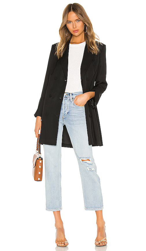 ANINE BING Francoise Blazer in Black. - size XS (also in L)