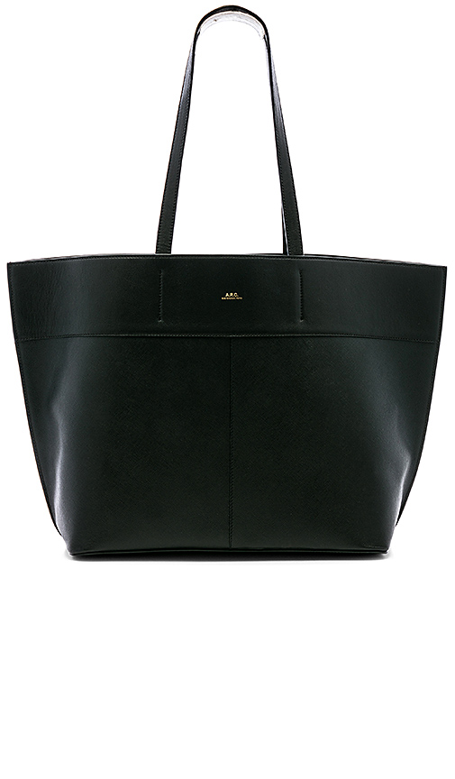 A.P.C. Totally Tote in Black.