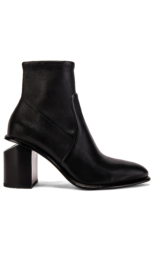 Alexander Wang Anna Stretch Bootie in Black. - size 40 (also in 37,37.5,38,38.5,39)