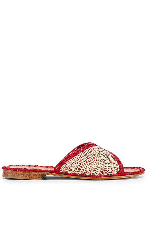 Carrie Forbes Salon Miste Sandal in Red. - size 39 (also in 36,37,38,40)