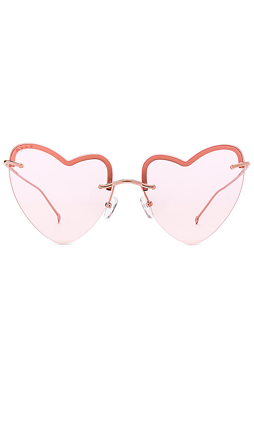 DIFF EYEWEAR Remy in Pink.