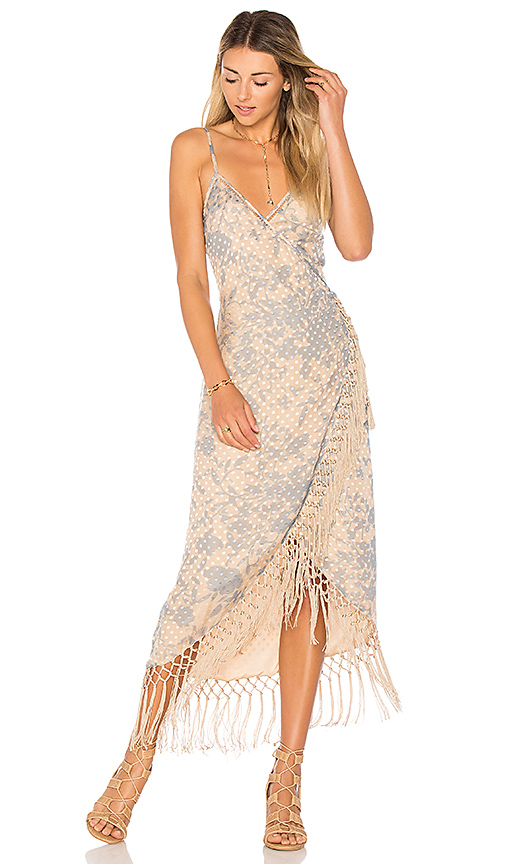 House of Harlow 1960 x REVOLVE Sonya Dress in Nude. - size XS (also in S,M)