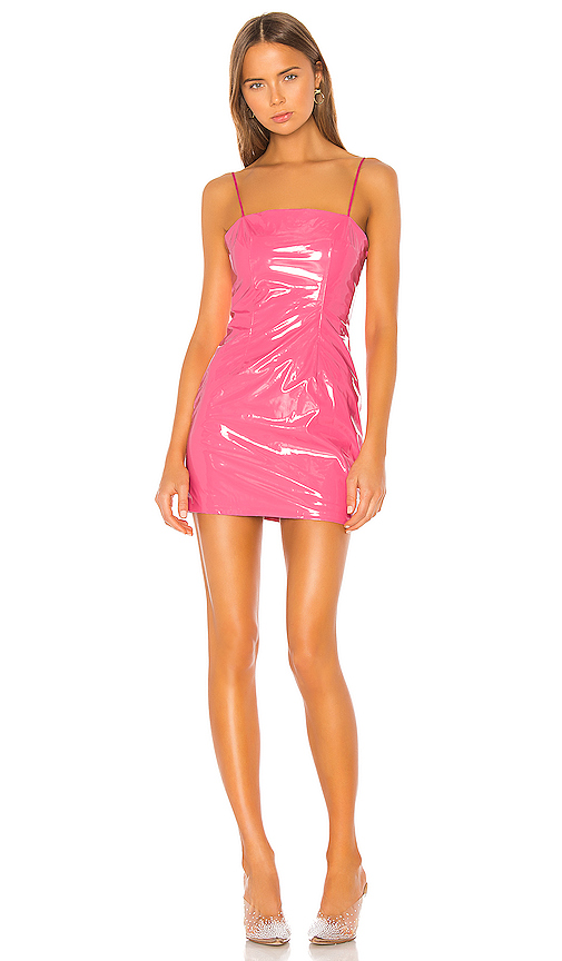 h:ours Kama Mini Dress in Pink. - size XL (also in XXS,XS,S,M,L)