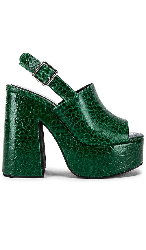 Jeffrey Campbell Mattix Platform in Green. - size 7 (also in 6,7.5,8,8.5,9)