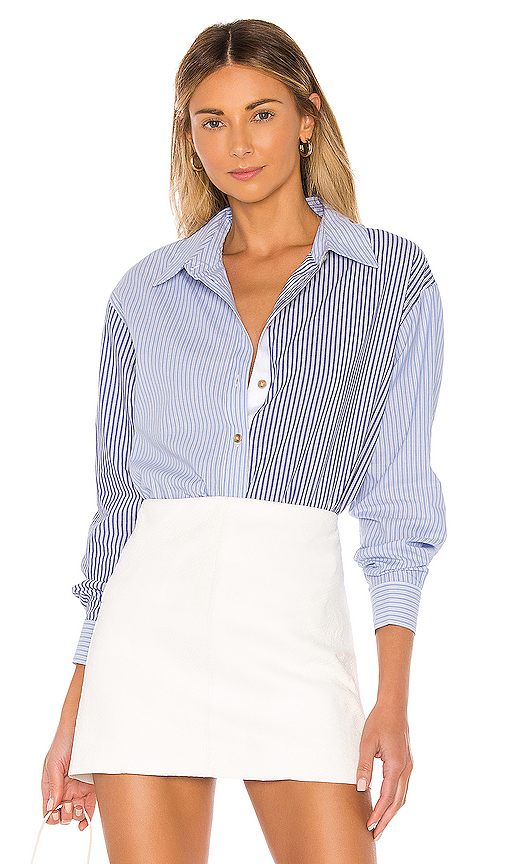 L'Academie The Blaise Top in Blue. - size S (also in XXS,XS,M,L,XL)