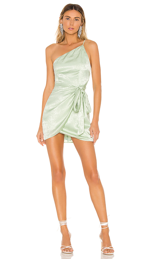 Lovers + Friends Karen Mini Dress in Mint. - size L (also in XXS,XS,XL)
