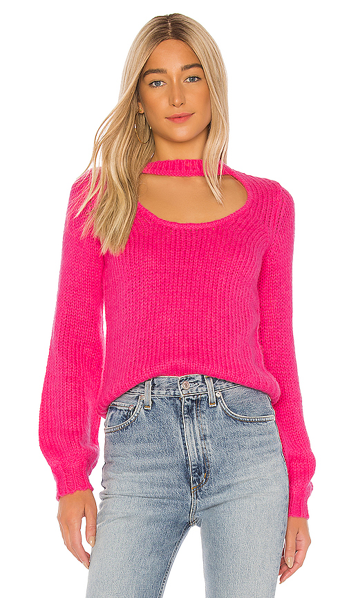 Lovers + Friends Tres Leches Sweater in Pink. - size M (also in L,S,XS)