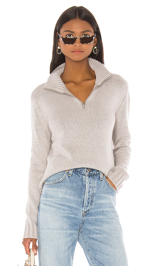 LPA Renata Turtleneck in Gray. - size L (also in XXS,XS,S,M,XL)