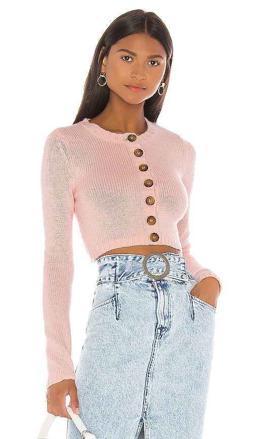 LPA Eliza Sweater in Pink. - size XL (also in L,M,S,XS,XXS)