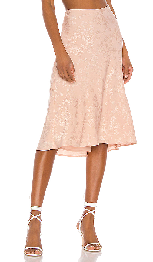 LPA Lucy Skirt in Blush. - size S (also in XXS,XS,M,L,XL)