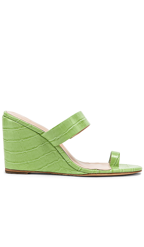 LPA Dona Wedge in Green. - size 9 (also in 5,5.5,6,6.5,7,7.5,8,8.5,10)