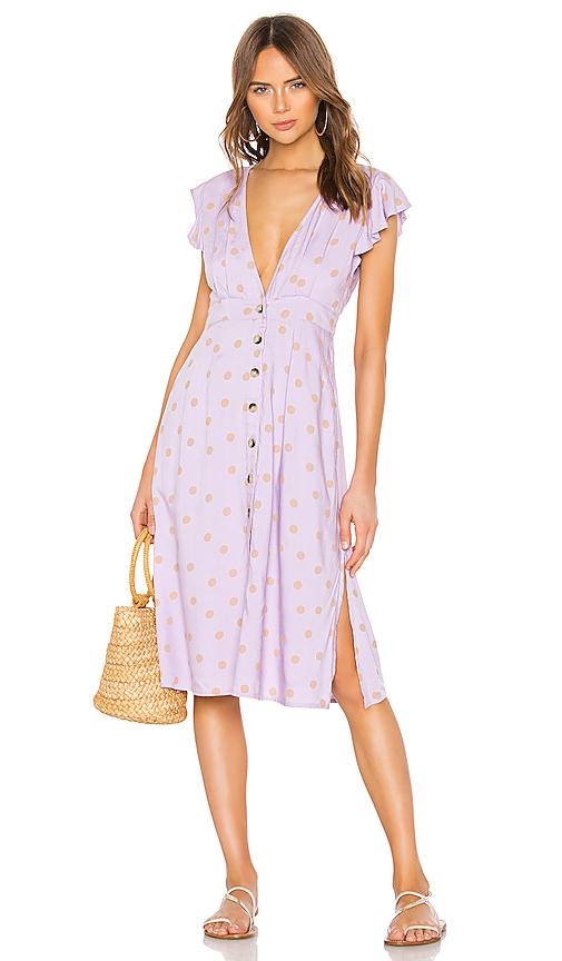 L*SPACE X REVOLVE Jordan Dress in Lavender. - size XS (also in S,M,L)