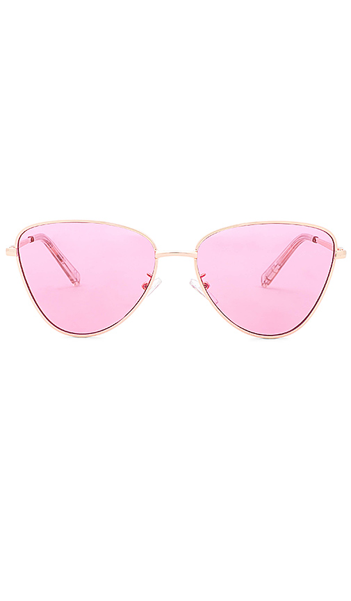 Le Specs x Revolve Echo in Pink., $90