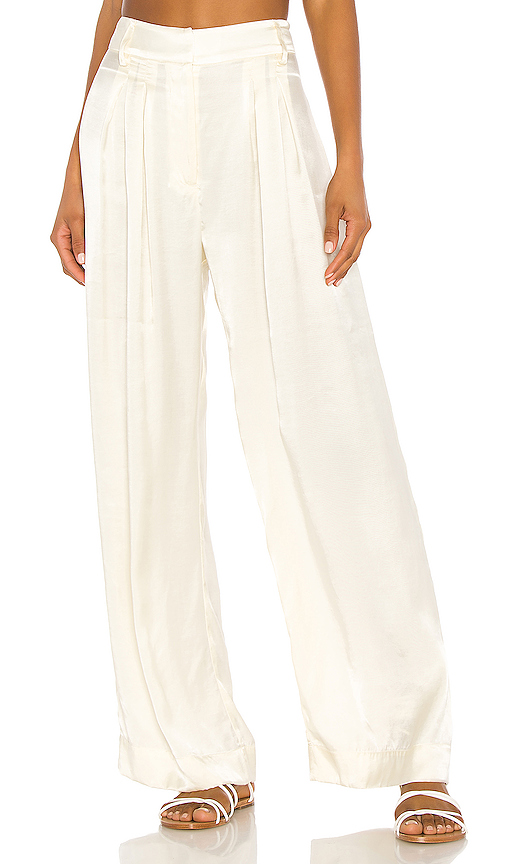 Mara Hoffman Caressa Pant in Cream. - size 2 (also in 4,6)