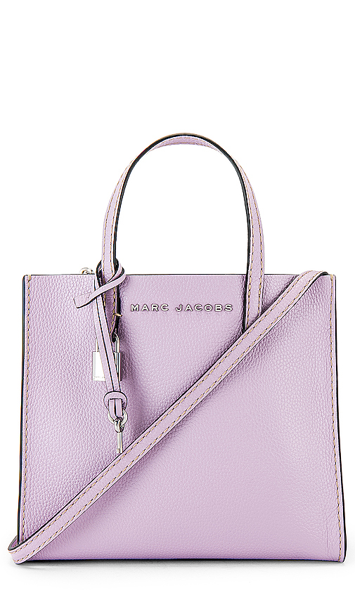 Marc Jacobs Mini Grind Tote in Purple.