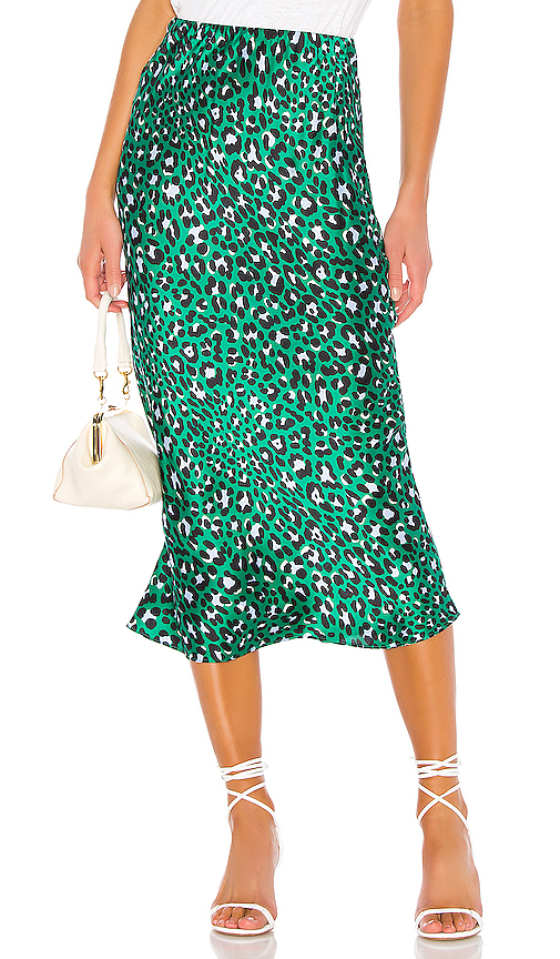 Olivia von Halle Isla Skirt in Green. - size 3 (also in 2,1)
