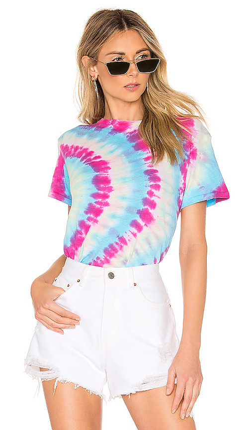 RE/DONE X REVOLVE Classic Tee in Blue. - size L (also in S,XS,M)