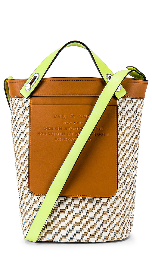 Rag & Bone Small Tool Tote in Tan.