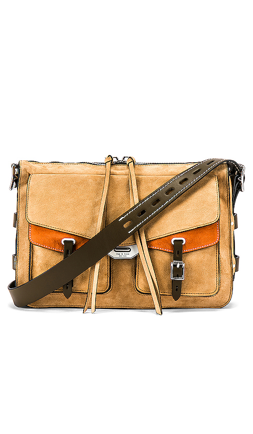 Rag & Bone Field Messenger Bag in Tan.