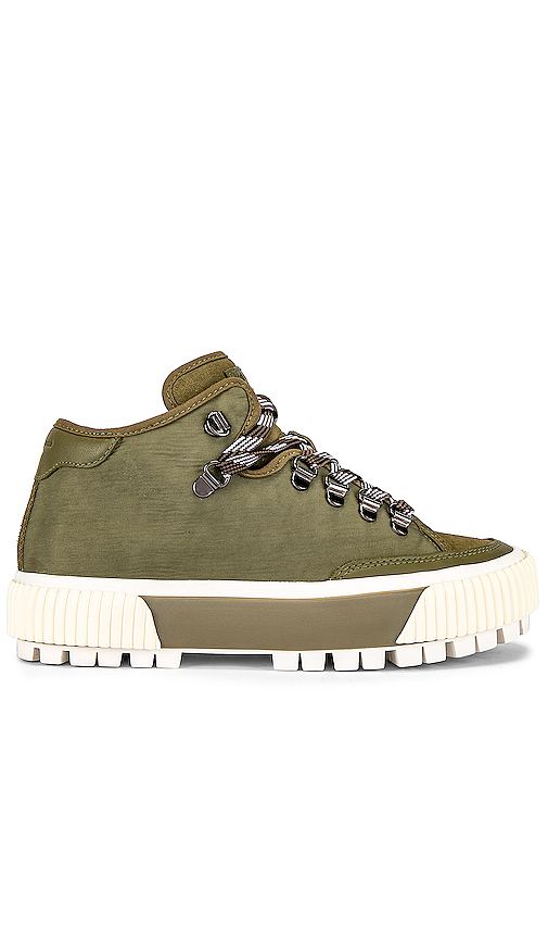 Rag & Bone RB Army Hiker Low Sneaker in Olive. - size 36 (also in 37.5,38,38.5,39,40)