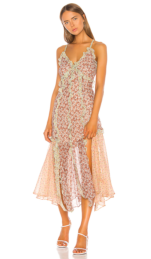 Rebecca Taylor Lucia Tank Dress in Pink. - size 0 (also in 2,6,8)