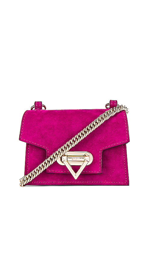 SALAR Bebe Soft Mini Bag in Pink.