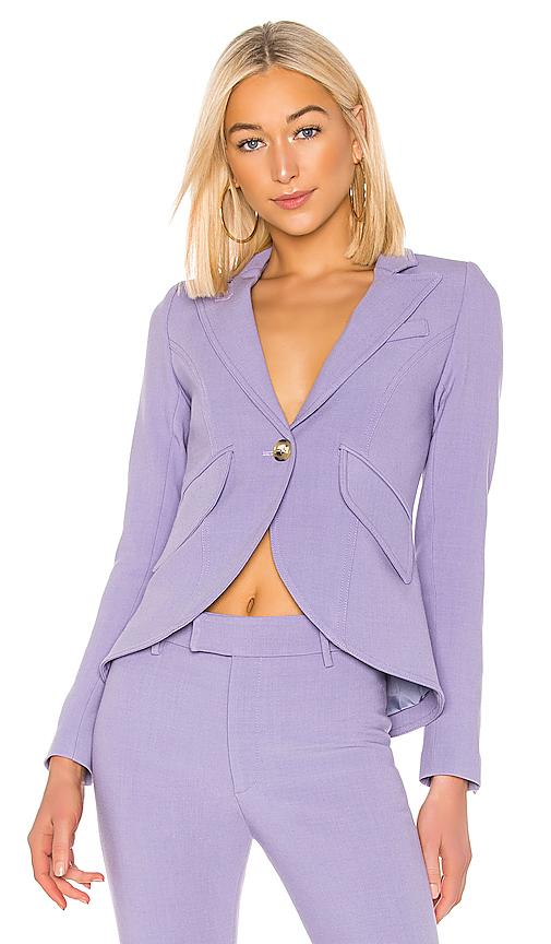 Smythe One Button Blazer in Lavender. - size 4 (also in 2,6)