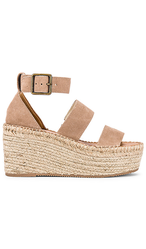 Soludos Palma Platform Sandal in Pink. - size 8 (also in 5,5.5,6,6.5,7,7.5,8.5,9,9.5,10)