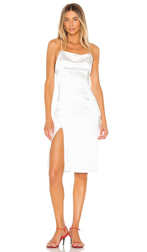 superdown Daisie Midi Dress in White. - size M (also in XXS,XS,S,L,XL)