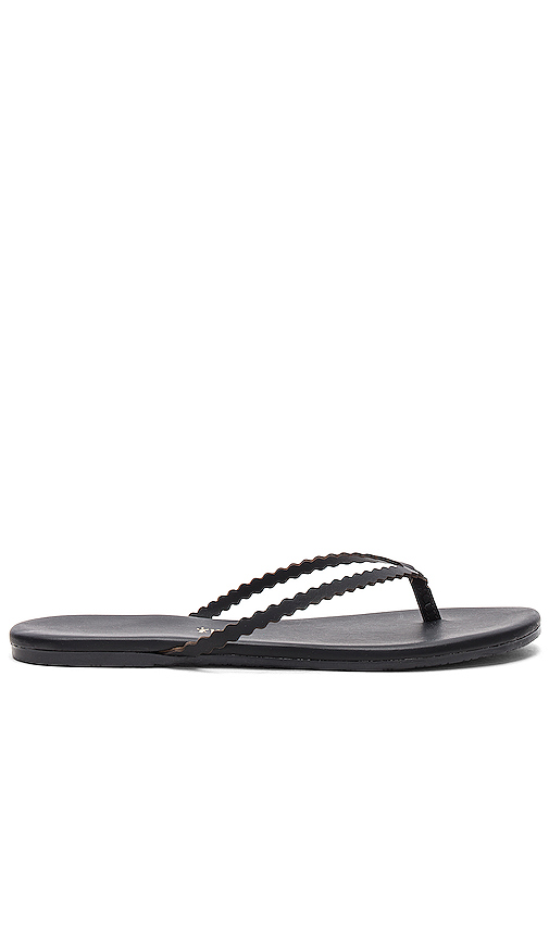 TKEES Studio Sandal in Black. - size 9 (also in 10,11,5,8)