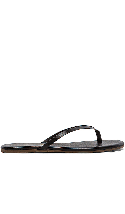 TKEES Sandal in Black. - size 7 (also in 6,8,9,10,5,11)
