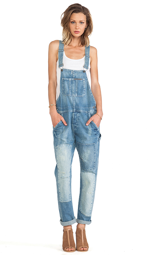 True Religion erin overall