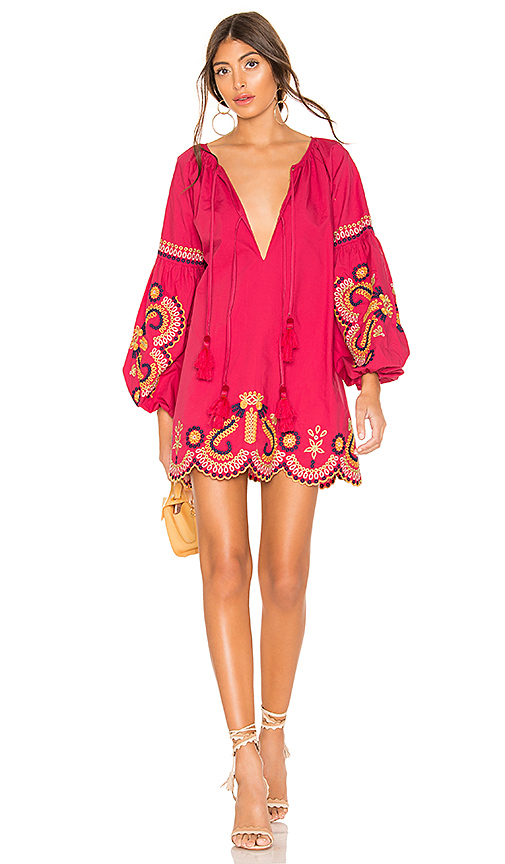 Tularosa Justina Dress in Red. - size XL (also in S,M,L)