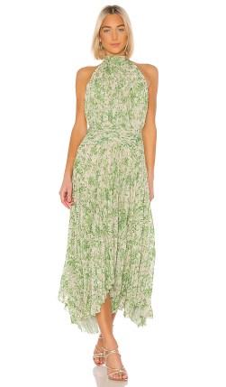 AMUR Bibi Dress in Green. - size 8 (also in 2)