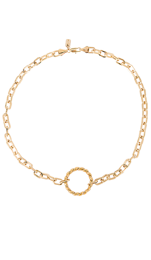 Vanessa Mooney The Sublime Necklace in Metallic Gold.