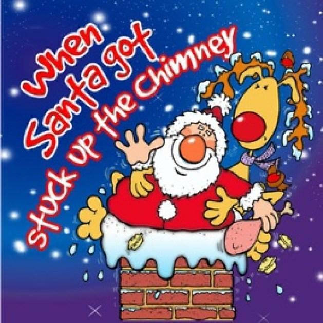 """Результат пошуку зображень за запитом """"Santa Got Stuck in the Chimney"""""""