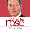 Charlie Rose - Charlie Rose: Stephen Colbert and John F. Burns, December 8, 2006  artwork