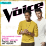 Thunderstorm Artis & Nick Jonas - You'll Be In My Heart (The Voice Performance)