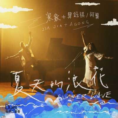 家家 - 夏天的浪花 (feat. 龔鈺祺) - Single