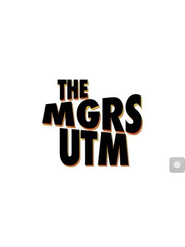 The MGRS UTM Convertor for iPhone Screenshot