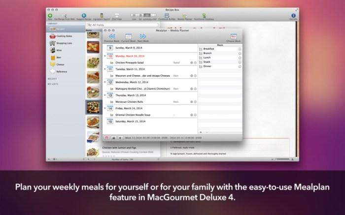 MacGourmet Deluxe 4 Screenshot 05 587pltn