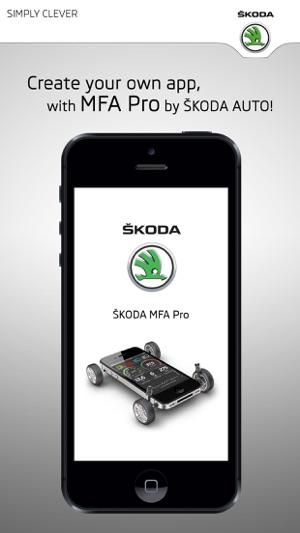 ŠKODA MFA Pro Screenshot