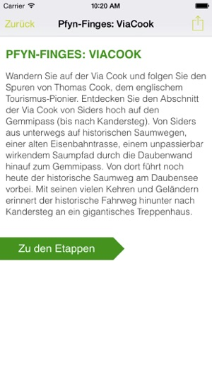 Schweizer Pärke Screenshot