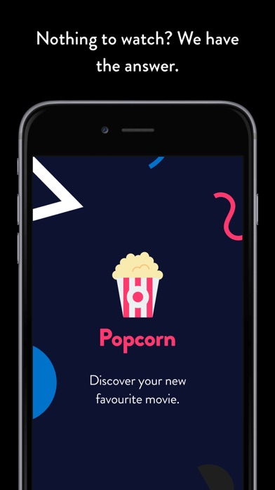 Popcorn: discover your new favourite movie iPhone