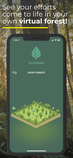 EcoWake: A Greener Alarm Clock Screenshot