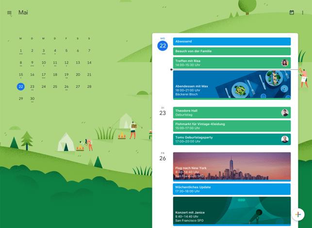 Google Kalender: Terminplaner Screenshot