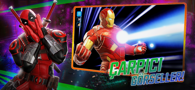‎MARVEL Strike Force Screenshot