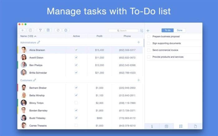 Top Contacts - Contact Manager Screenshot 03 133brun
