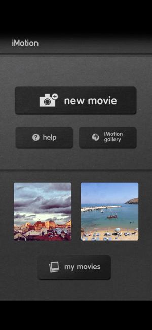 iMotion Screenshot